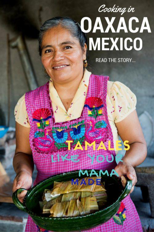 Cooking in Teotitlán de Valle, Oaxaca – Mexico