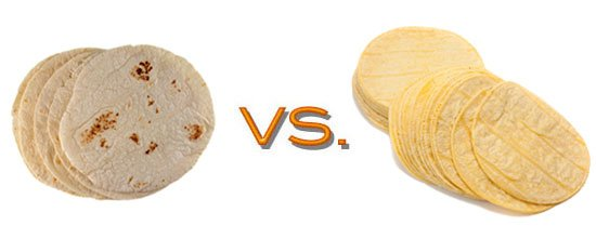 Corn vs. Flour Tortillas (From the Nutritional Side)