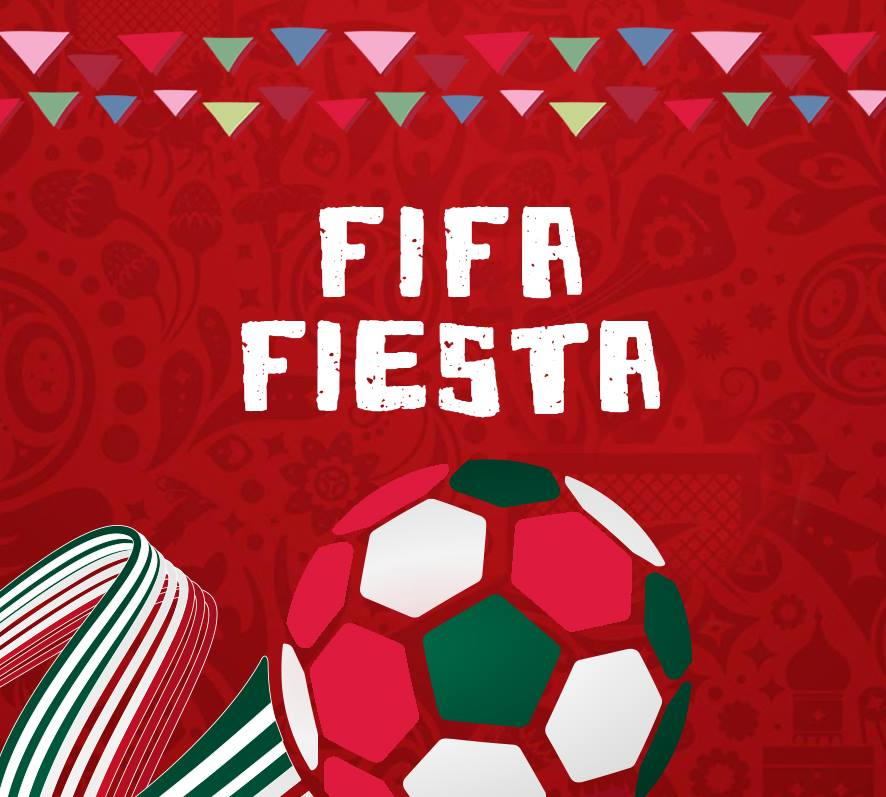 World Cup 2018 Celebrations with Salsa Mexican Grill