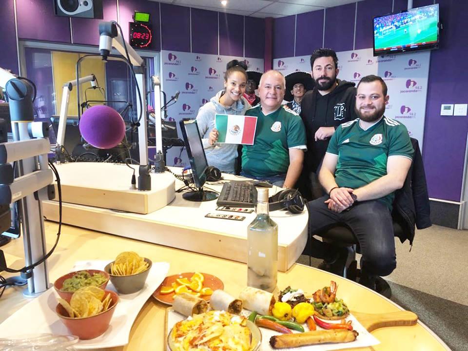 Martin goes Mexican on Breakfast - JacarandaFM 02/07/2018