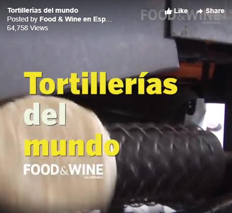 Tortillerías del mundo/Tortilla factories around the world